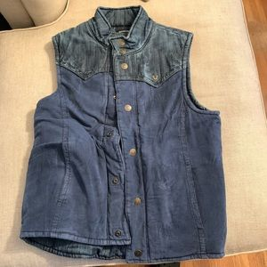 True Religion reversible vest